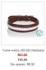 zum Halsband Yuma (weiss)