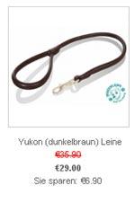 Lederleine Yukon dunkelbraun